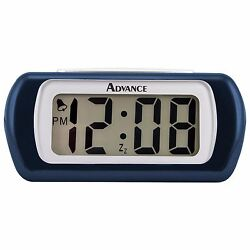 6108AT Advance Time Technology 0.6 LCD Digital Alarm Clock - Blue