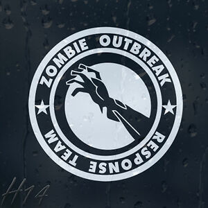 Zombie-Bloody-Hand-Outbreak-Response-Team-Car-Decal-Vinyl-Sticker
