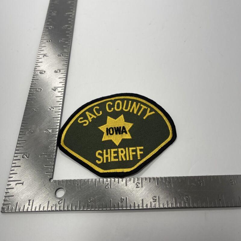 SAC COUNTY IOWA SHERIFF POLICE PATCH