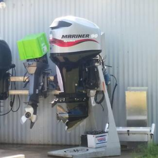 90hp optimax DFI  234hrs Redland Bay Redland Area Preview