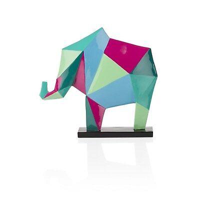 CocoMaison Elefant Statue / Skulptur, Elefantenskulptur Dekoration Deko Sockel