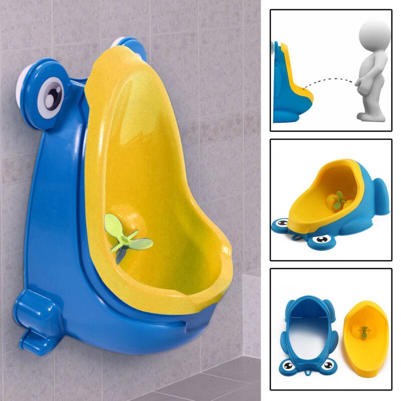 Light Blue Children Potty Urinal Toilet Training Boy Bathroom Pee Trainer Kids Urinal Plastic For Boys