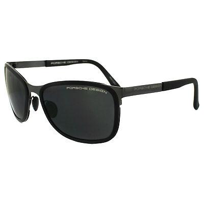Porsche Design Sonnenbrille P8568 ein Dunkles Metallisch Grau