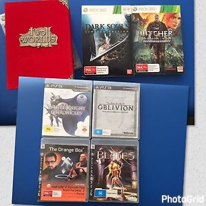7 x PS3 GAMES PLAYSTATION  EXCELLENT CONDITION Birkdale Redland Area Preview