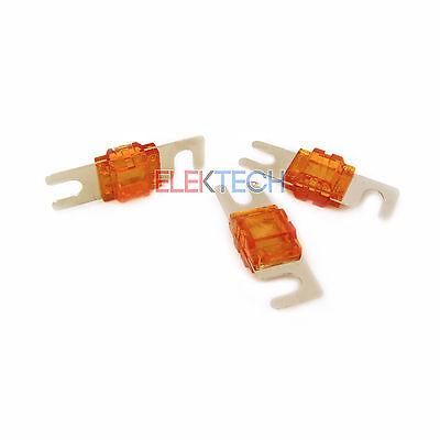 Stinger SPF58150 Midi Style Fuses 150 amp Protection Shoc-Krome Plating 3 Pack ()