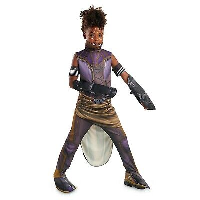 Disney Store Authentic Shuri Costume for Kids Black Panther Size Medium - Costums For Kids