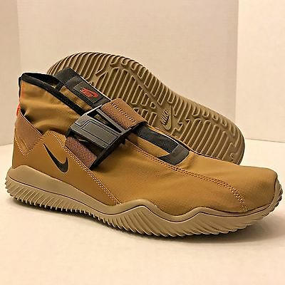 NIKE ACG . 07 . KMTR SNEAKERS SHOES 902776-201 GOLDEN BEIGE/KHAKI (MEN'S 13)