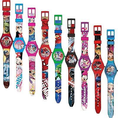 Armbanduhr Kinderuhr Kinder Uhr Armband Analog Disney Frozen Silikon (Disney Armband)