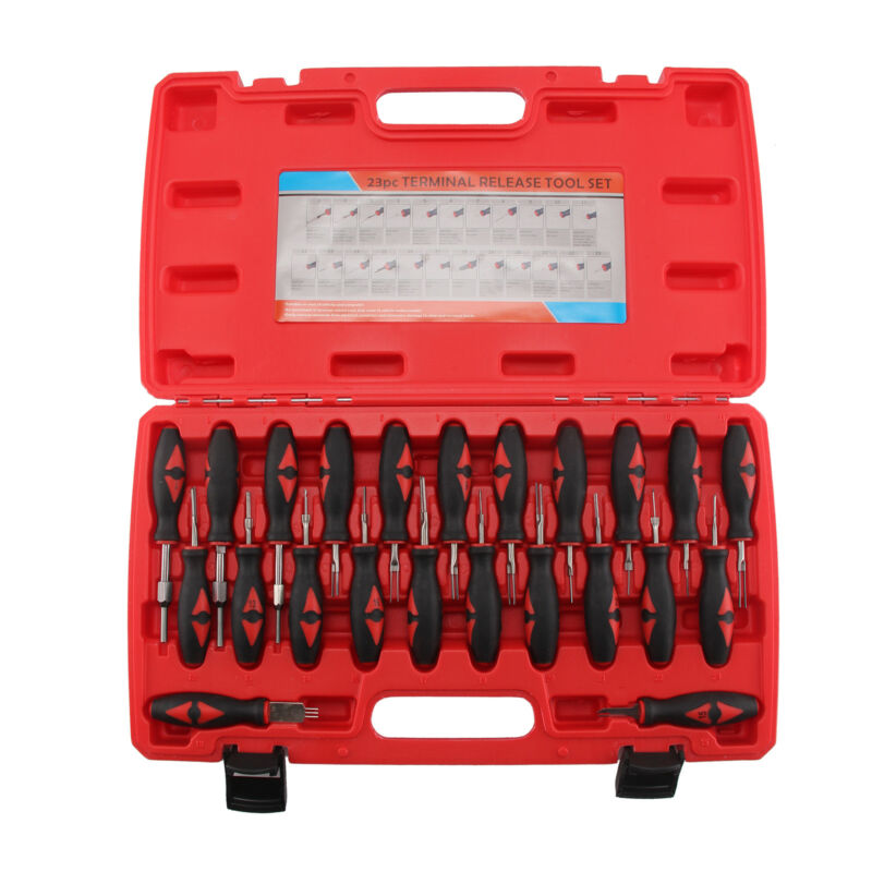 Entriegelungswerkzeug Set KFZ Stecker Auspinwerkzeug ISO Pin Lösewerkzeug
