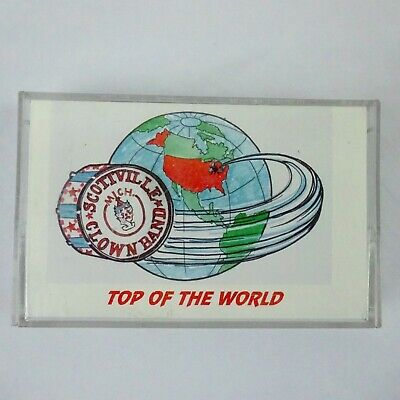 Scottville Clown Band Top of the World Cassette 1993 West Shore Records Clown-band