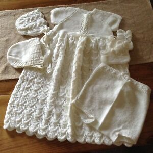 Christening Outfit and Blanket