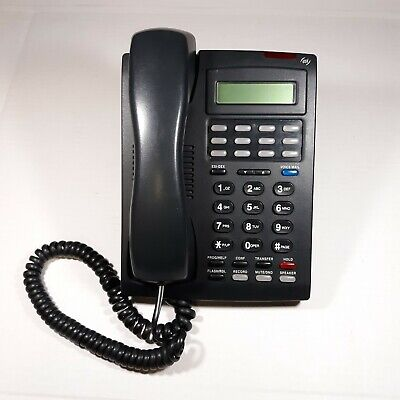 Esi 24 Key Desk Office Phone Charcoal Gray Digital Voicemail Programmable Button