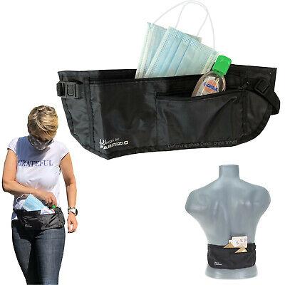 Hüfttasche Hygiene Tasche Fabrizio Geldgürtel Bauchtasche für Mundschutz Maske