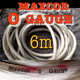 New 6m Maxcor 0 Gauge Cable - Genuine 0-AWG