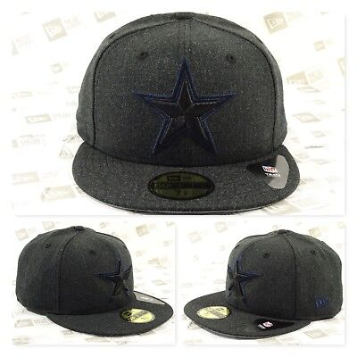 Dallas COWBOYS Heather Bold Fitted Cap