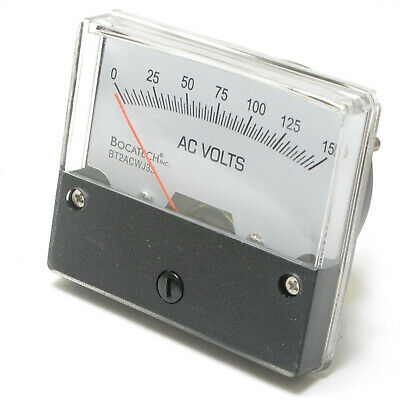 Analog Panel Meter 0 - 150 Volt Ac 2.75 Inch
