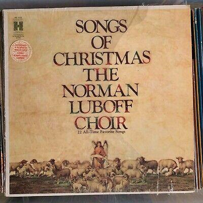 Norman Luboff Choir - Songs Of Christmas -1955 Columbia vinyl LP album reissue ()