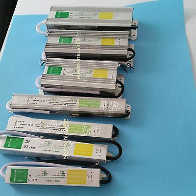 DC12V AC90-250V IP67 Constant voltage waterproof electronic led driver 10W-150W ()