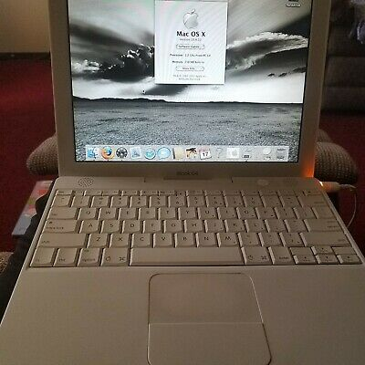 "Apple iBook G4 14.1"" 1.2 Mhz Laptop OS X"