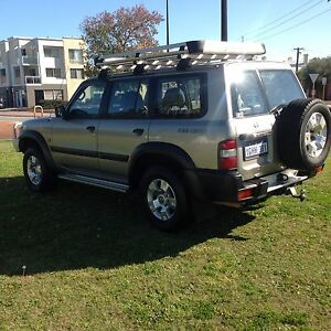 2000 NISSAN PATROL GU ST 4.5L 5SPD 4X4 7SEATER WAGON (LPG/PET) Highgate Perth City Area Preview