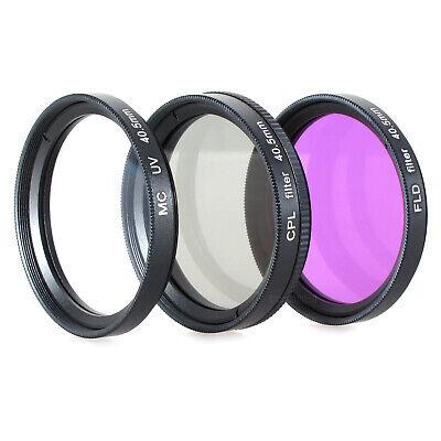 UV POL FD Filter Set passend für Sony Alpha A5000 A5100 A6000...