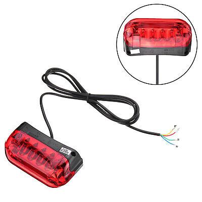 36V LED Luz trasera Scooter Señal de giro Lámpara trasera eléctrica Ebike