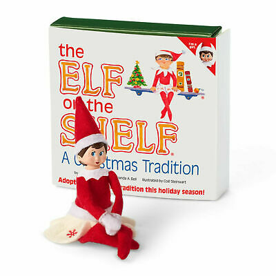 """American Girl The Elf on the Shelf Girl Scout Elf Set for 18"""" Dolls Holiday NEW!"""