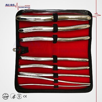 Hegar Uterine Dilator Sounds Surgical Gynaecology Set Of 08 Pcs Ce Certifie