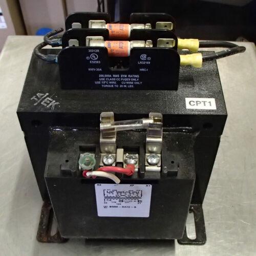 ImperviTRAN B500-0472-8 500 VA 50/60HZ Micron Control Transformer Used Take Out