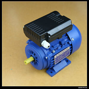 0 37kw 0 5hp 1400rpm cement mixer electric motor 1phase for Cement mixer motor for sale