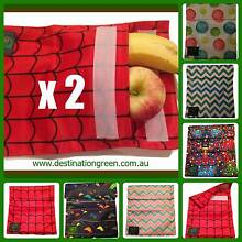 2 x Reusable Sandwich/Snack Pouches/Pockets Beacon Hill Manly Area Preview