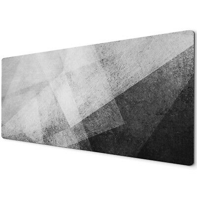 60 X 30cm Extra Large Xl Desk Mouse Pad Mat Gaming Black White Grey Geometric