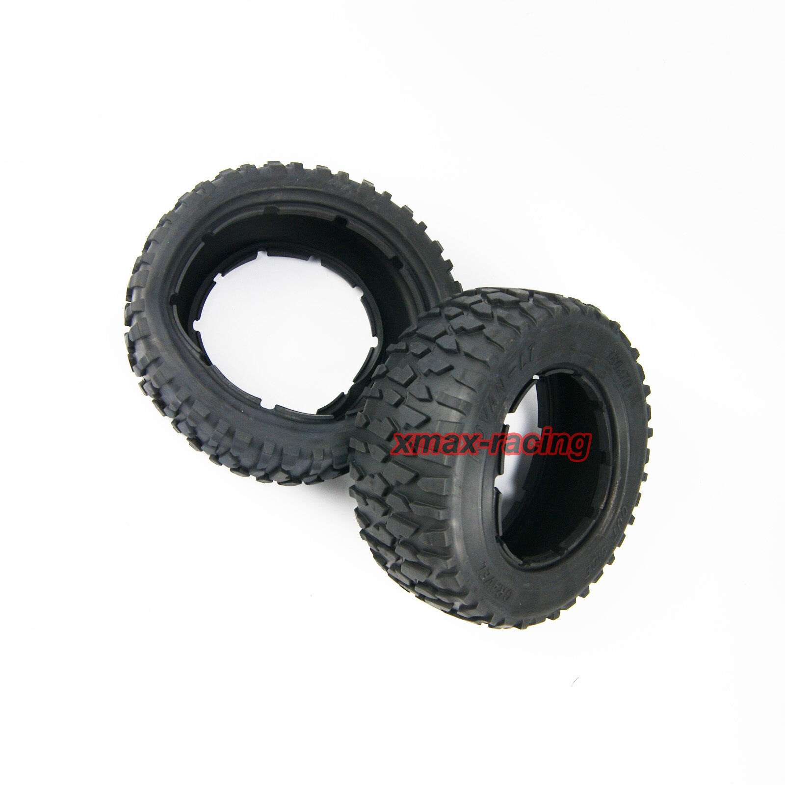 King Motor X53022 KM X2 Pair of Front or Rear tyres 1//5th RC