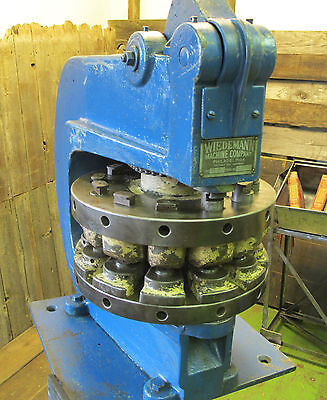 Wiedemann R2 Turret Punch Press 5 Ton
