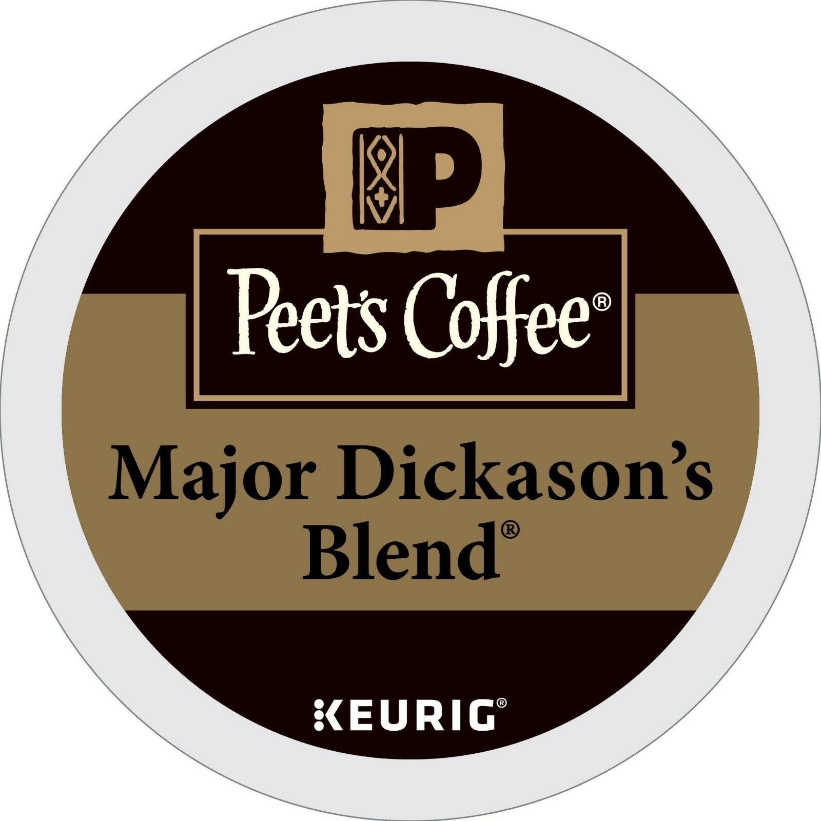Peet's Coffee Major Dickasons Blend Coffee 22 to 132 Keurig
