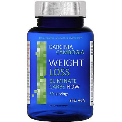 100% PURE Daily GARCINIA CAMBOGIA 95% HCA Weight Loss Diet 3000 Slim mg