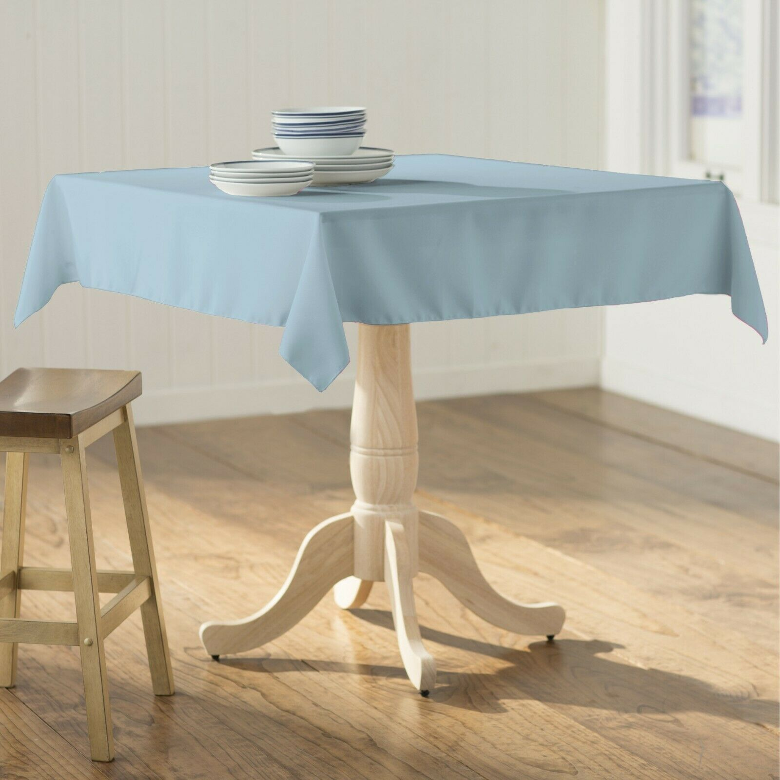 polyester poplin square tablecloth 58 by 58
