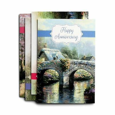 Anniversary - Thomas Kinkade - 12 Boxed Cards