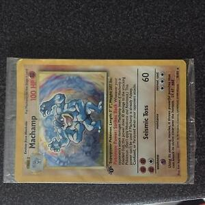 Machamp pokemon card base set sealed mint condition Slacks Creek Logan Area Preview