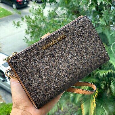 Michael Kors Women Phone Case Clutch Card Holder Purse Handbag Wallet Wristlet