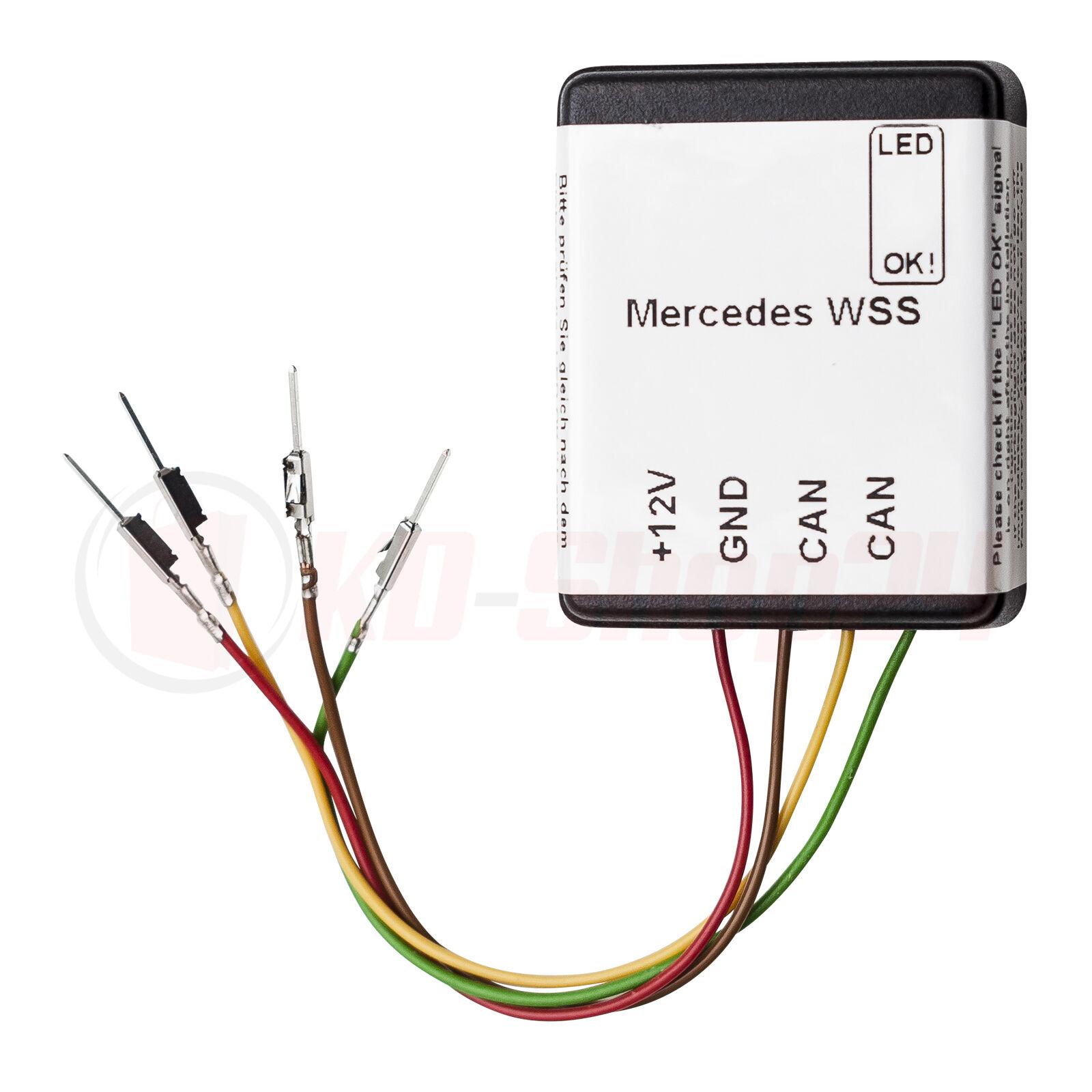 mercedes benz wss system seat occupancy detector seat sensor