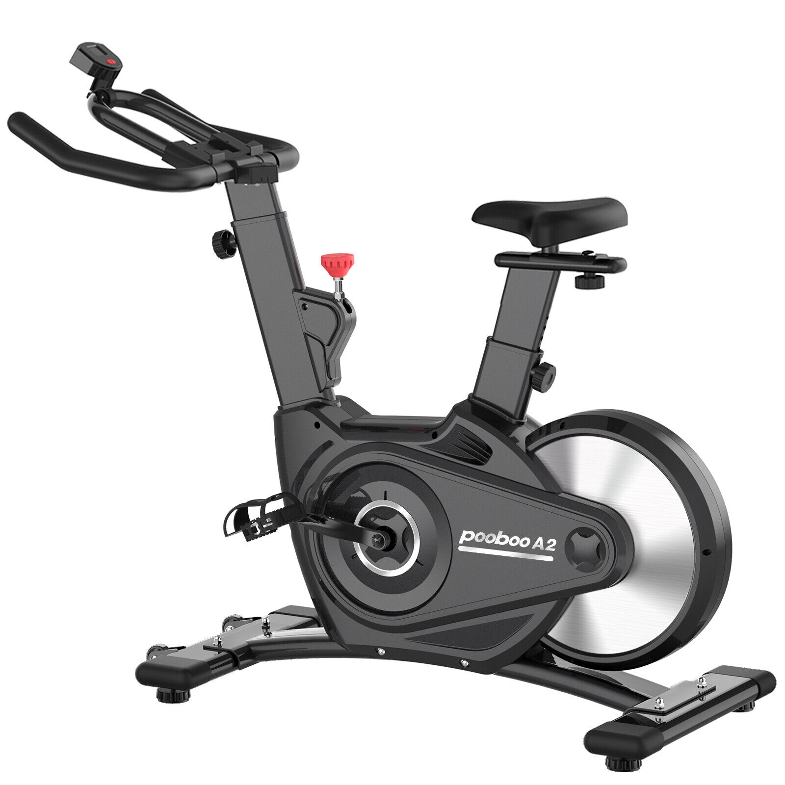 Pooboo Indoor Cycling Magnetic Resistance Stationary Cardio