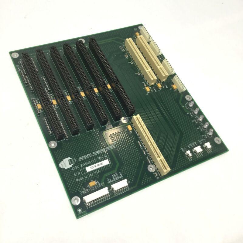 ICS 14008-02 Industrial Single Computer Backplane AT, 5x ISA, 2x PCI, PICMG 1.0