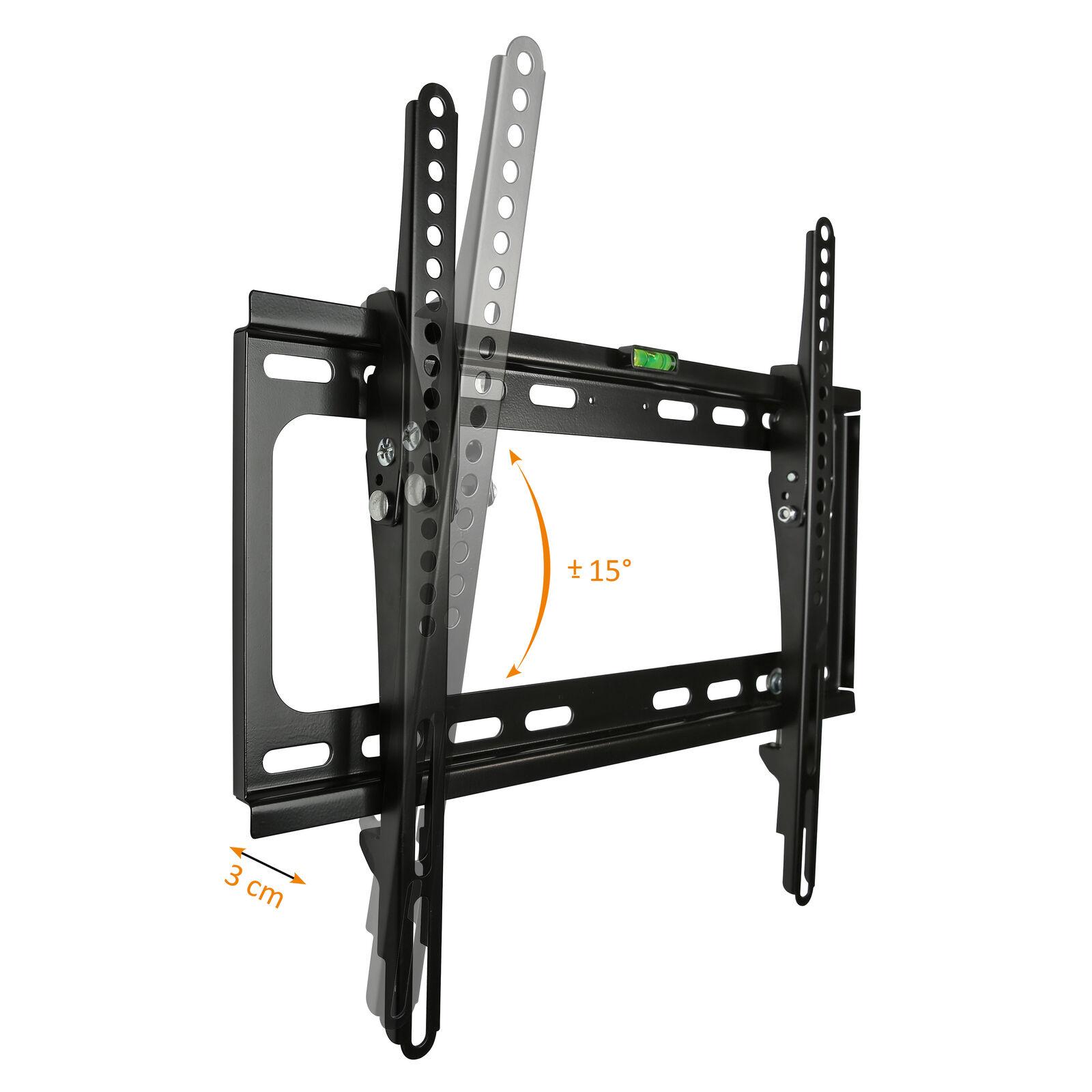 LCD Plasma TV Wandhalter Wandhalterung neigbar kippbar LED 3D 20 - 55 Zoll