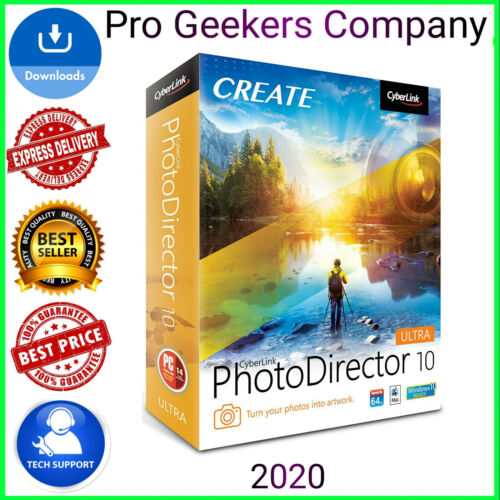 CYBERLINK PHOTODIRECTOR ULTRA 10✅FULL VERSION✅LIFETIME✅GENUINE