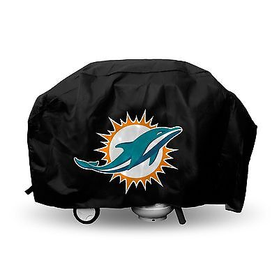 Rico NFL Miami Dolphins Deluxe Barbeque BBQ Grill Cover New (Miami Dolphins Grill Cover)