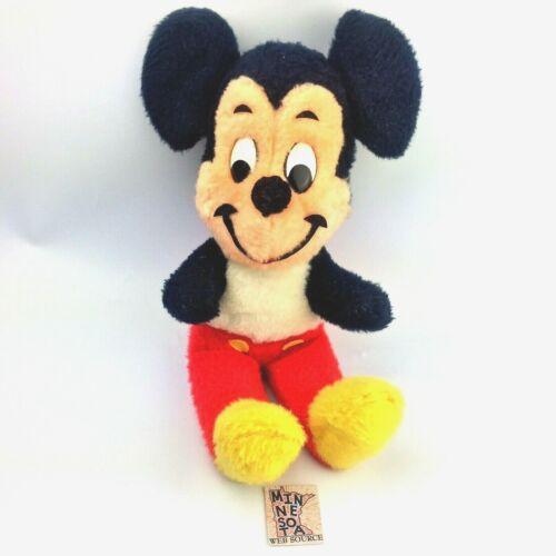 Vtg Disney California Stuffed Toys Walt Disney Mickey Mouse Plush Toy 1970