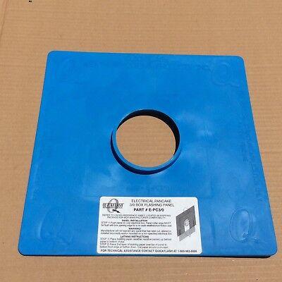 Quickflash E-pc-30 Electrical Pancake 30 Box Flashing Panel