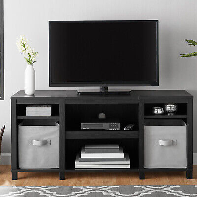 "TV CONSOLE STAND 50"" Entertainment Center Media Storage Home Theater Wood Cabine"
