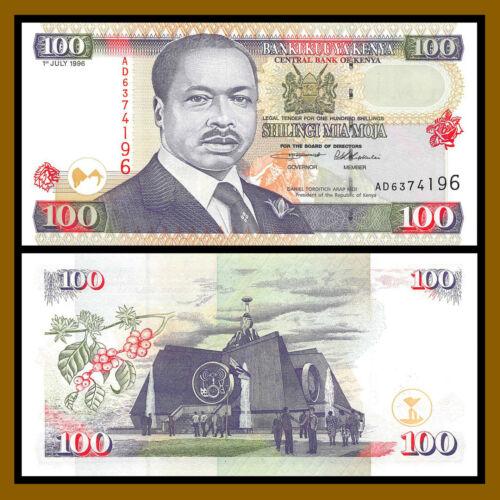 Kenya 100 Shillings, 1996 P-37a Uncirculated